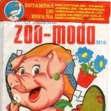 Coleccionismo Recortables: RECORTABLE ZOO-MODA - ESTAMPAS DE ESPAÑA. Lote 21741293