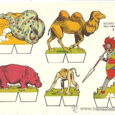 Collectables Paper Dolls - RECORTABLE RECORTES BABY SERIE ANIMALES Nº 1 - 132202769