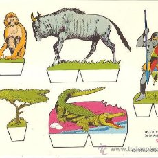 Collectables Paper Dolls - RECORTABLE RECORTES BABY SERIE ANIMALES Nº 2 - 132202841
