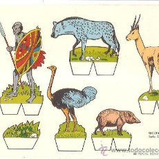 Collectables Paper Dolls - RECORTABLE RECORTES BABY SERIE ANIMALES Nº 5 - 132203018