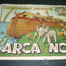 Collectables Paper Dolls - EL ARCA DE NOE. Cuaderno de Construcciones Zoológicas. (28 x 20 ctms). 3 láminas + portada - 23836851