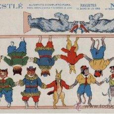 Coleccionismo Recortables: RECORTABLE PUBLICITARIO NESTLÉ-LA LECHERA. SERIE 1ª Nº 2. CIRCA 1930. . Lote 26740866