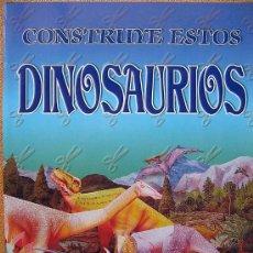 Coleccionismo Recortables: RECORTABLE PARA CONSTRUIR UN DIORAMA CON 6 DINOSAURIOS DIFERENTES. VER PHOTOS. Lote 26728975