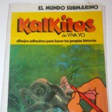 Coleccionismo Recortables: KALKITOS - EL MUNDO SUBMARINO - NUEVO A ESTRENAR. Lote 28818289