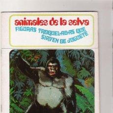 Coleccionismo Recortables: ANIMALES DE LA SELVA - FIGURAS TROQUELADAS QUE SIRVEN DE JUGUETE - AÑO 1971. Lote 31422617
