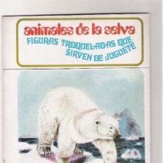 Collectables Paper Dolls - ANIMALES DE LA SELVA - FIGURAS TROQUELADAS QUE SIRVEN DE JUGUETE - AÑO 1971 - 31457818
