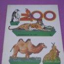 Coleccionismo Recortables: COLECCION RECORTABLES DE HOY - Nº 6 ... ZOO ** EDICIONES BAUSAN - BARCELONA 1979. Lote 31592320
