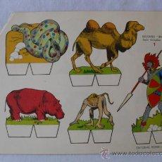 Coleccionismo Recortables: RECORTABLES ROMA.RECORTES BABY..9 LAMINAS COMPLETA. Lote 32217920
