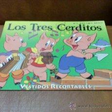 Coleccionismo Recortables: RECORTABLES CLÁSICOS Nº3.-LOS TRES CERDITOS. Lote 33507541