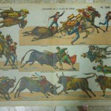 Coleccionismo Recortables: RECORTABLE DE PALUZIE Nº 869 LIDIADORES DE LA PLAZA DE TOROS. Lote 40340745