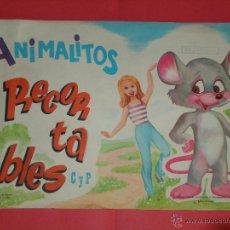 Collectables Paper Dolls - LIBRO DE 50 LAMINAS RECORTABLES DE ANIMALITOS C Y P. AÑO 1971. NUEVO - 41745794