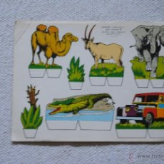 Collectables Paper Dolls - RECORTES KIKI- LOLO SERIE ANIMALES Nº 8 AÑO 1970 - 44858993
