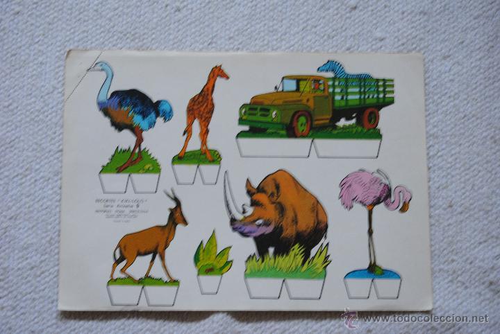 RECORTE KIKI-LOLO SERIE ANIMAELS Nº 9 AÑO 1970 (Coleccionismo - Recortables - Animales)