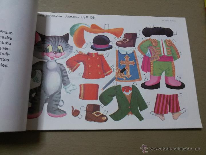 Coleccionismo Recortables: RECORTABLES ANIMALITOS-ALBUM COMPLETO-50 LÁMINAS-5 SERIES DE 10-31X21 CM - Foto 2 - 49346536