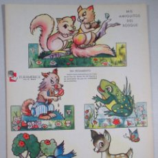 Collectables Paper Dolls - RECORTABLE DE ANIMALES , RECORTABLES ZAS - SERIE B , Nº 4 - EURAMERICA - 51808970