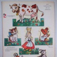 Coleccionismo Recortables: RECORTABLE DE INDIOS Y VAQUEROS , RECORTABLES ZAS - SERIE B , Nº 1 , 2 , 3 , 4 - EURAMERICA. Lote 51809166
