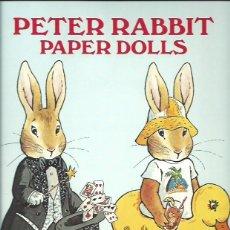 Coleccionismo Recortables: PETER RABBIT BEATRIX POTTER RECORTABLE PAPER DOLLS 1982. Lote 51943657