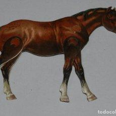 Coleccionismo Recortables: (M) EL CABALLO NUM 4 , SUCESORES DE HERNANDO , MADRID , ANIMALES MOVIBLES , 25 X 20 CM. Lote 67952429