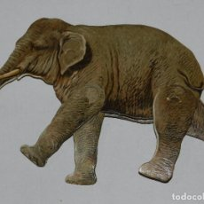 Coleccionismo Recortables: (M) EL ELEFANTE NUM 17 , SUCESORES DE HERNANDO , MADRID , ANIMALES MOVIBLES , 25 X 18 CM. Lote 67952773