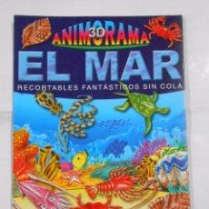 Coleccionismo Recortables: EL MAR RECORTABLES FANTASTICOS ANIMARAMA 3D PANINI. TDKR10. Lote 33993991