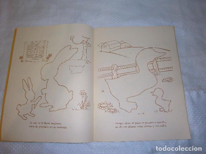 Coleccionismo Recortables: EN LA GRANJA CORTA, PEGA Y PINTA *IMPRESO EN ITALIA Y DISTRIBUIDO EN BARCELONA* *CASTELLANO AÑOS 50* - Foto 5 - 93138885