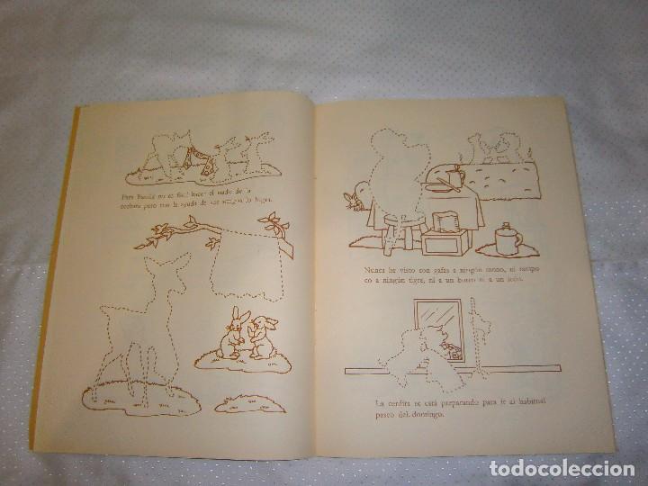 Coleccionismo Recortables: EN EL ALEGRE PARQUE ZOOLÓGICO *IMPRESO EN ITALIA Y DISTRIBUIDO EN BARCELONA* *CASTELLANO AÑOS 50* - Foto 5 - 93139245