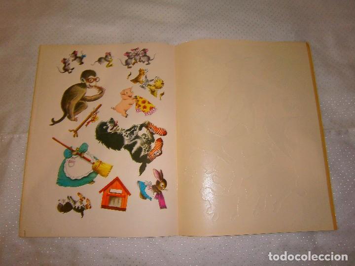 Coleccionismo Recortables: EN EL ALEGRE PARQUE ZOOLÓGICO *IMPRESO EN ITALIA Y DISTRIBUIDO EN BARCELONA* *CASTELLANO AÑOS 50* - Foto 11 - 93139245