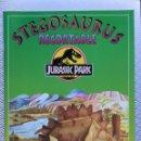 Coleccionismo Recortables: LIBRO RECORTABLE JURASSIC PARK - STEGOSAURUS - SUSAETA 1992. Lote 94052852