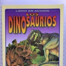 Coleccionismo Recortables: LIBRO RECORTABLE DINOSAURIOS - SUSAETA AÑOS 90. Lote 94054423