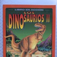 Coleccionismo Recortables: LIBRO RECORTABLE DINOSAURIOS II - SUSAETA AÑOS 90. Lote 94054664