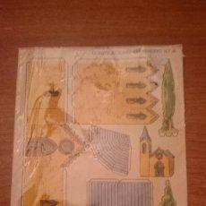 Coleccionismo Recortables: HOJA RECORTABLE CONSTRUCCION FERANDITO Nº 6. Lote 97151463