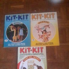 Coleccionismo Recortables: REVISTA KIT-KIT DE RECORTABLES DE 1982. Lote 98369816