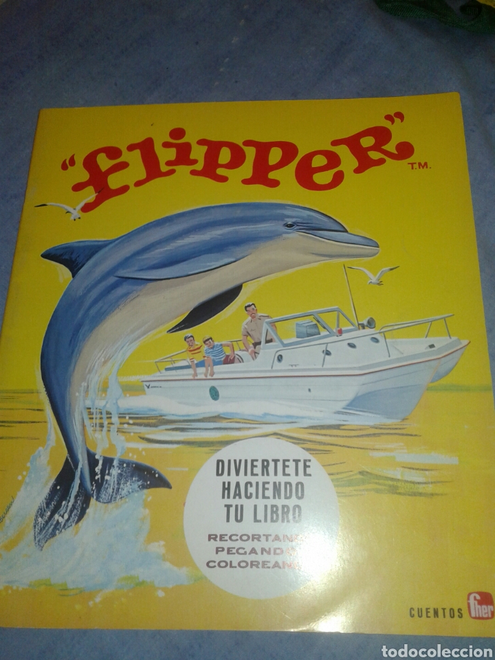 Coleccionismo Recortables: Antiguo cuento recortable de flipper editorial Fher 1969 - Foto 1 - 104786327
