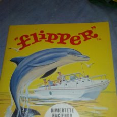 Coleccionismo Recortables: ANTIGUO CUENTO RECORTABLE DE FLIPPER EDITORIAL FHER 1969. Lote 104786327