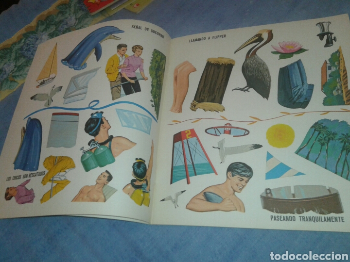 Coleccionismo Recortables: Antiguo cuento recortable de flipper editorial Fher 1969 - Foto 3 - 104786327
