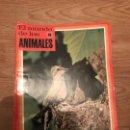 Coleccionismo Recortables: FASCÍCULOS DE LA ENCICLOPEDIA DE LOS ANIMALES - NOGUER / RIZOLLI / LAROUSSE - 1970. Lote 107849359