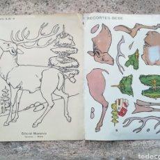 Coleccionismo Recortables: RECORTABLE EDITORIAL MUNTAÑOLA. Lote 108436366