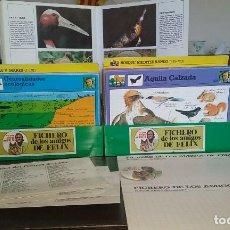 Coleccionismo Recortables: COLECCIÓN COMPLETA FICHERO DE LOS AMIGOS DE FELIX. Lote 108977923