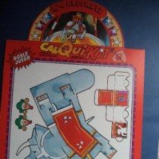 Coleccionismo Recortables: CALQUI-KIT.ELEFANTE. Lote 109490571