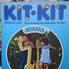 Collectables Paper Dolls - ocasion ! antiguo libro troquelado Kit KIt Jirafa numero 8 1980 argos vergara - 118059451