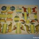 Coleccionismo Recortables: ANTIGUA LÁMINA ANIMALES DOMÉSTICOS SERIE 10 Nº 198 RECORTABLE DE EDICIONES * LA TIJERA * AÑO 1930S. Lote 120155411