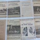 Coleccionismo Recortables: HOJAS DIVULGACIÓN DE AVICULTURA GALLINAS. Lote 120389091