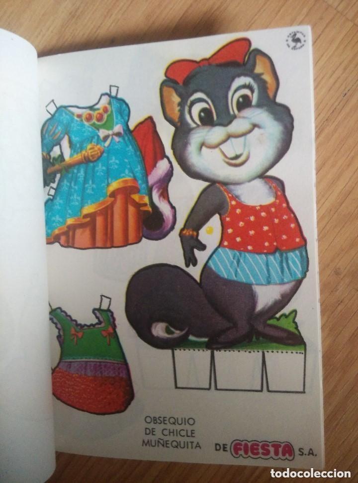 LOTE DE 12 RECORTABLES DE OBSEQUIO CHICLE MUÑEQUITA DE FIESTA, HAY ALGUNO REPETIDOS,UNA FOTO DE CADA (Coleccionismo - Recortables - Animales)