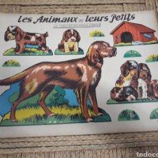 Coleccionismo Recortables: RECORTABLE ANIMALES. Lote 139020200