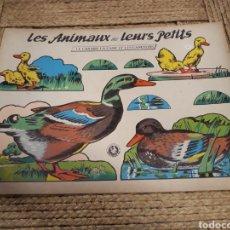 Coleccionismo Recortables: RECORTABLE ANIMALES. Lote 139020772