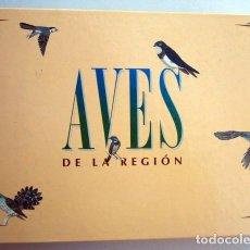 Coleccionismo Recortables: ALBUM DE ANILLAS. AVES DE LA REGIÓN. MURCIA. COMPLETO. Lote 145281682