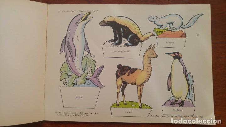 Coleccionismo Recortables: RECORTABLES TORAY GRUPO 12º PARQUE ZOOLOGICO .AÑO 1962 - Foto 6 - 151604602