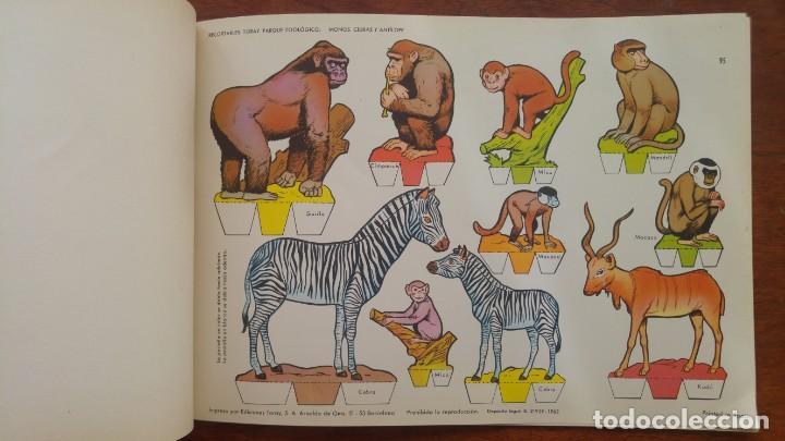 Coleccionismo Recortables: RECORTABLES TORAY GRUPO 12º PARQUE ZOOLOGICO .AÑO 1962 - Foto 9 - 151604602