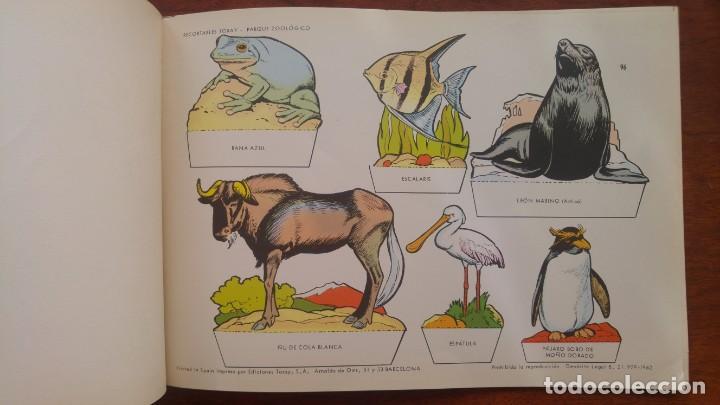 Coleccionismo Recortables: RECORTABLES TORAY GRUPO 12º PARQUE ZOOLOGICO .AÑO 1962 - Foto 10 - 151604602