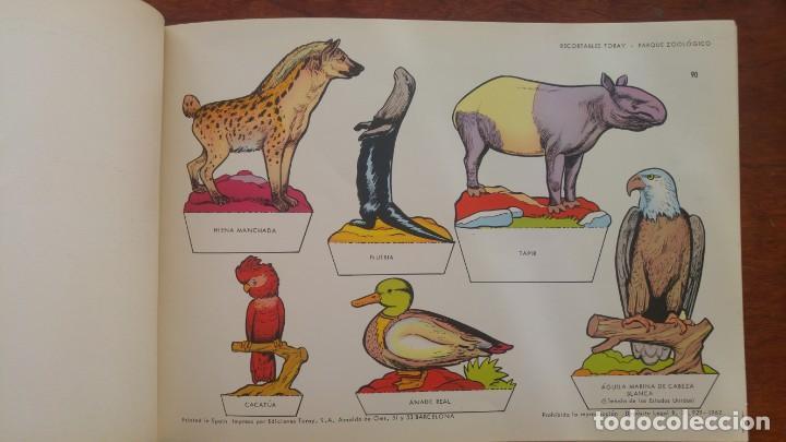 Coleccionismo Recortables: RECORTABLES TORAY GRUPO 12º PARQUE ZOOLOGICO .AÑO 1962 - Foto 12 - 151604602